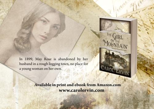 Postcard Girl On Mountain - Copy