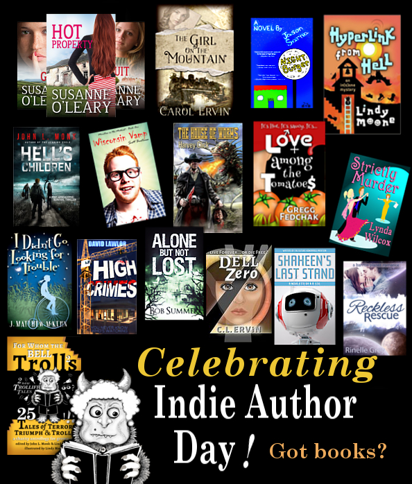 indy author day poster for carol